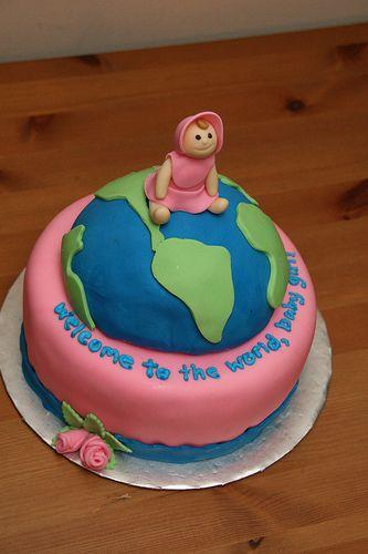 Welcome Baby Cake Decoration : http://cakedecoratingcoursesonline.com/cake-decorating ...