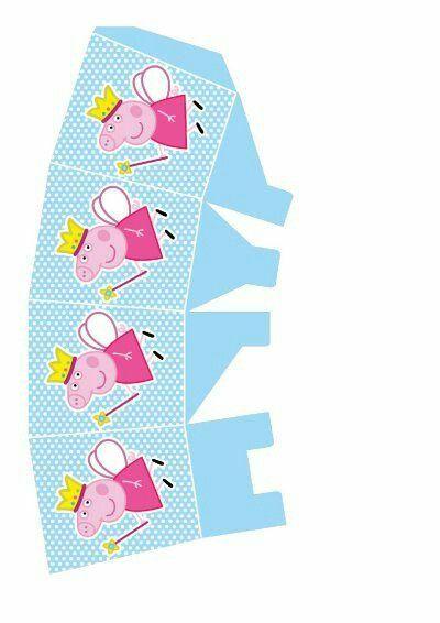 Caja abierta Pepapig | peppa pig | Pinterest