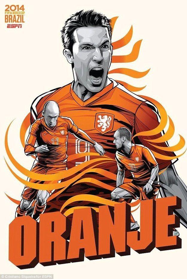 FIFA world cup 2014 Holland