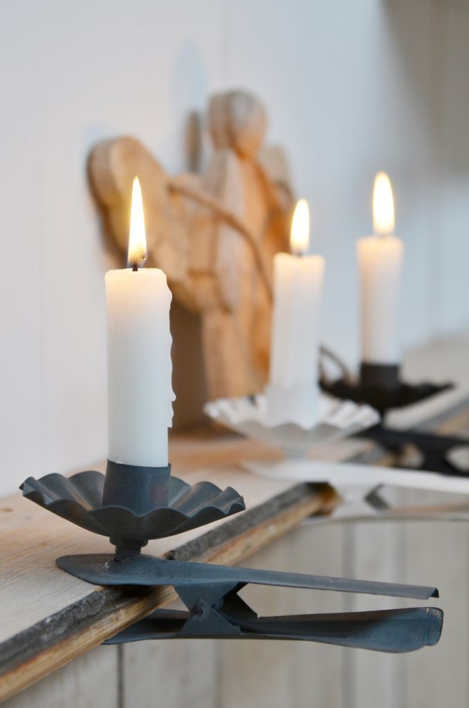 Clip candle holders