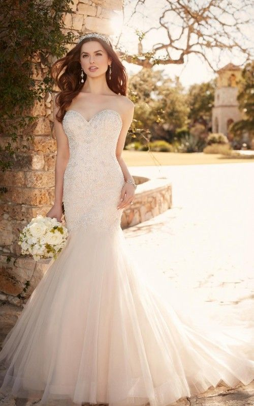 569 best images about essense of australia on pinterest for Fit and flare wedding dress body type