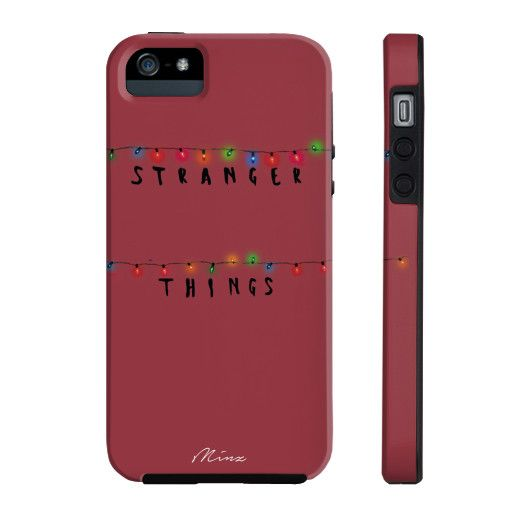 Overview Inspired by Netflix's exciting new series, Stranger Things. - Made with Lexan material that exceeds any other plastic in durability and strength. - Two-piece design that combines impact resis