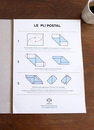 Best Letter  Envelope Folding Images On   Cartonnage