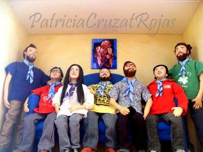 Patricia Cruzat Artesania y Color: Todos los Hermanos en Un solo Gran Cuadro