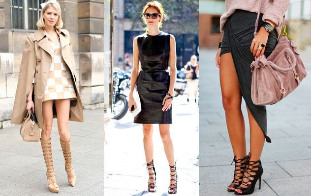 Las bloggers e it-girls ya se han unido a la tendencia de las sandalias enredadas. #tendencias2015 #sandaliasenredadas #sandalias