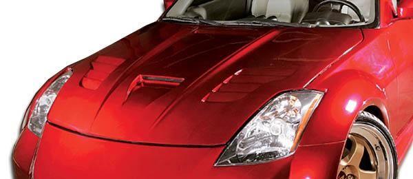 2003-2006 Nissan 350Z Duraflex Vader Hood - 1 Piece