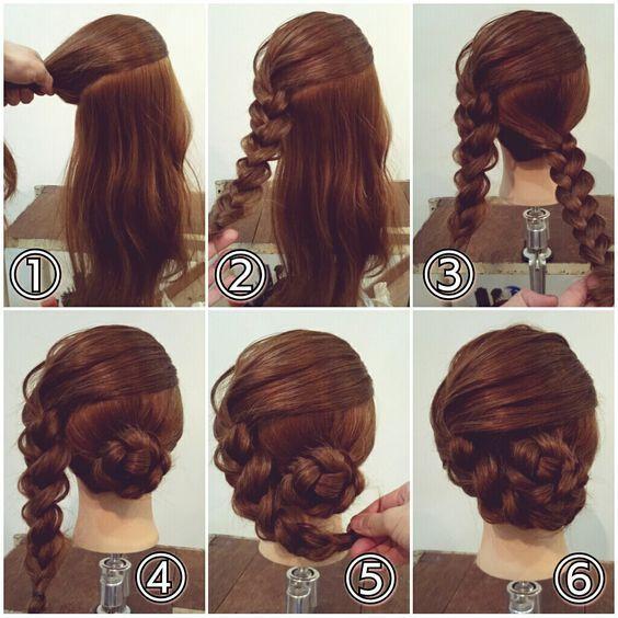 Friseur schnell und einfach zu machen – Lisa