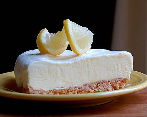 Joan's Frozen Lemon Mousse