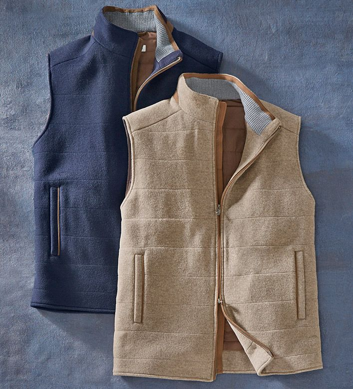 Peter Millar FlexWool WaterRepellent Vest Water