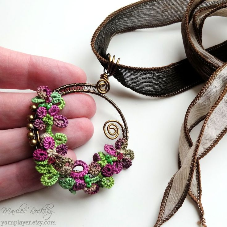 Yarnplayer's Tatting Blog: More mixed media experiments
