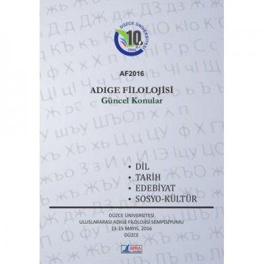 Adıge Filolojisi   KAFDAV Yayıncılık İşletmesi