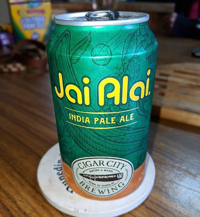 Keeping the #DrinkLocal going with @CigarCityBeer #CraftBeer