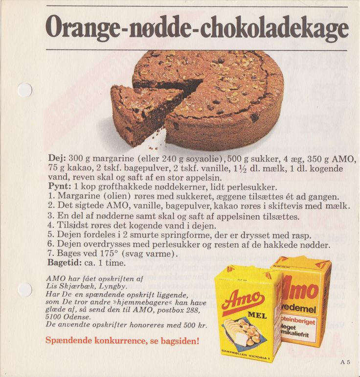 Orange-Nødde-Chokoladekage...