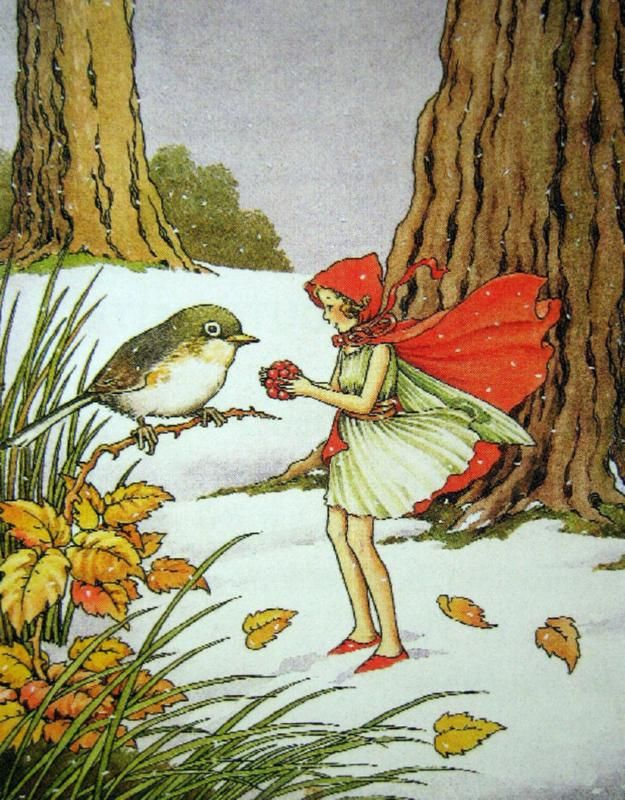 The Winter Fairy Came in the Snow ~ Ida Rentoul Outhwaite