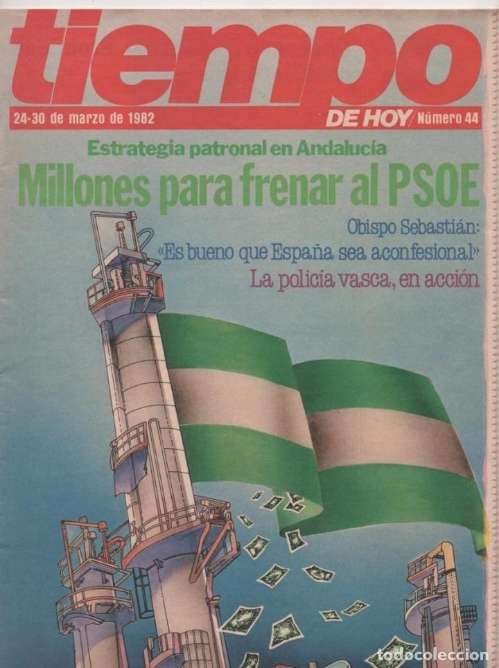 REVISTA TIEMPO Nº 44: MILLONES PARA FRENAR AL PSOE (ORÍGENES REVISTA TIEMPO SEPARATA DE INTERVIÚ)