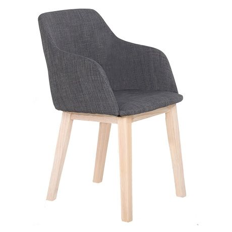 Fletcher Dining Chair Carver Rio Charcoal