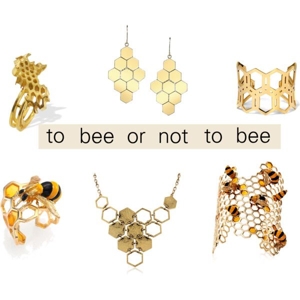 """To bee or not to bee"" by stylemixers on Polyvore"