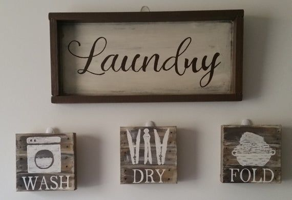Custom Rustic Wood Laundry Room Signs Rustic Laundry Rooms Laundry Room Signs Room Signs