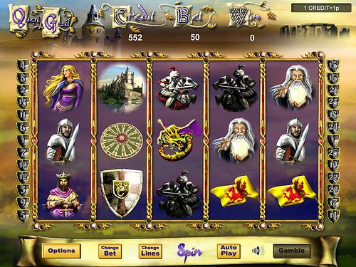 Play Quest for the Grail Slots for free now @ Moon Games