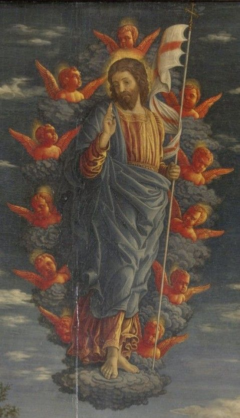 Detail from Trittico, Andrea Mantegna