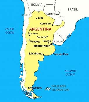 Argentina Facts for Children | A to Z Kids Stuff ties in with The Games Maker