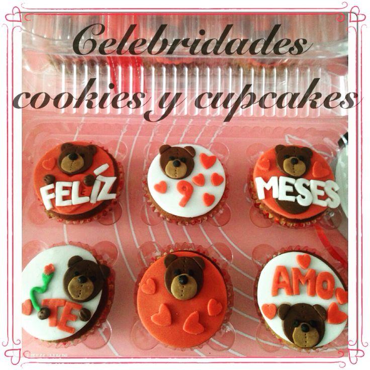 Cupcakes oso