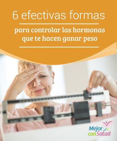 6 efectivas formas para controlar las hormonas que te hacen ganar peso   Las hormonas tiroideas juegan un papel importante cuando evitas ganar peso ya que ayudan a regular el metabolismo. Aquí te decimos cómo controlarlas.