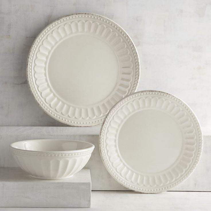 Charlotte Cream Dinnerware