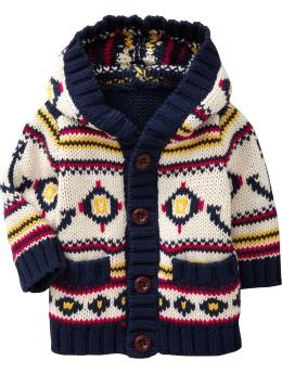 Hooded Nautical Cardigans for Baby Old Navy (the other favorite shirt my son owns. Wish we could find more clothes in this style)