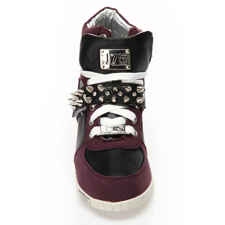 Amazon.com | J75 by Jump Women's Aurora Studs Wedge Sneaker | Fashion Sneakers
