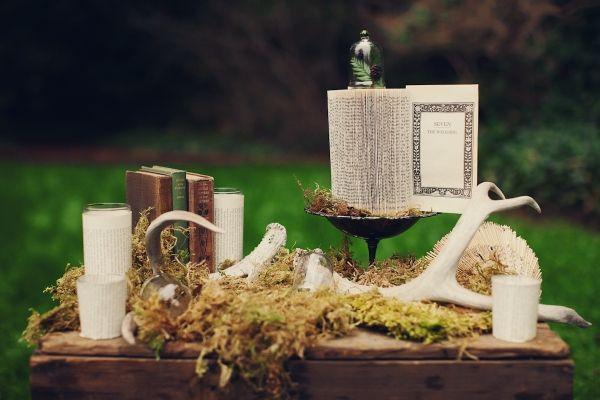Wedding enchanted forest theme