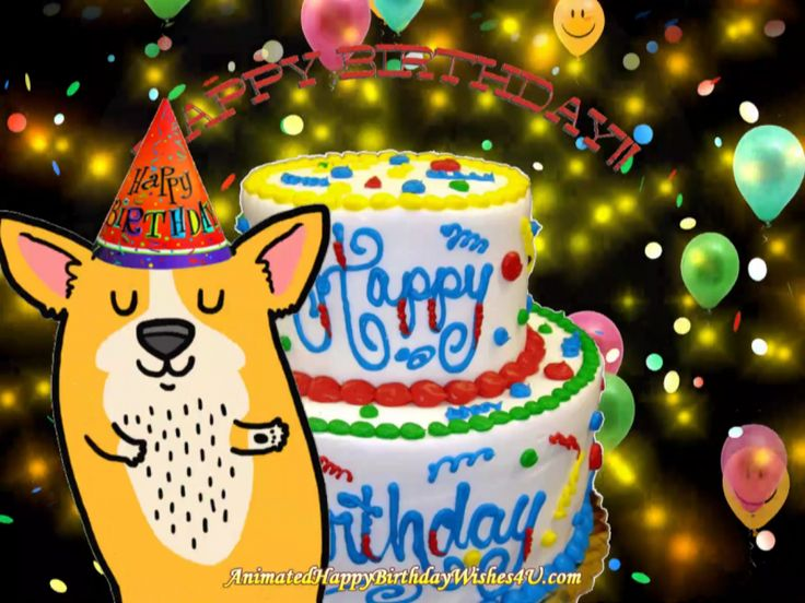 Dog Dancing Hbday Wishes in 2020 Happy birthday wishes