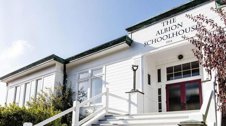 No More Teachers Dirty Looks Albion Schoolhouse Is an A-Plus Conversion