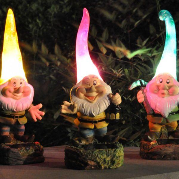 Wonderful Solar Garden Gnomes: Kim You Need These!