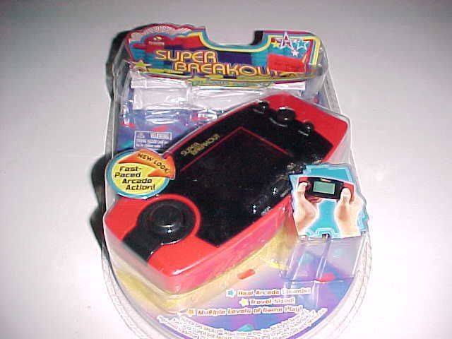 Atari 2006 MGR Games Super Breakout Classic Arcade Electronic Handheld Game New #MGAEntertainment