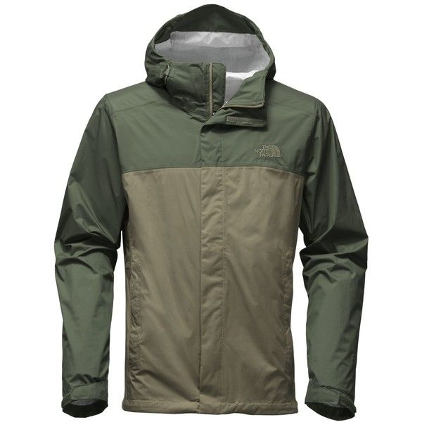 The North Face Men's Venture Waterproof Jacket ($99) ❤ liked on Polyvore featuring men's fashion, men's clothing, men's outerwear, men's jackets, green, mens windproof jacket, mens jackets, mens waterproof jackets and the north face mens jackets
