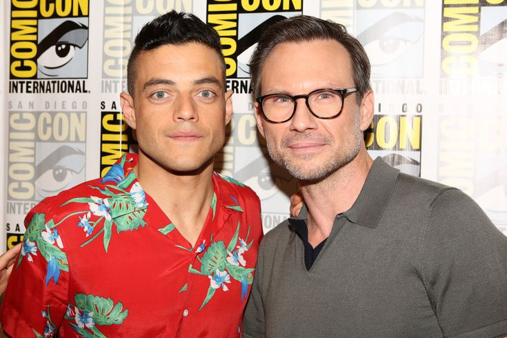Comic-Con 2016: Photos We Love: Rami Malek and Christian Slater