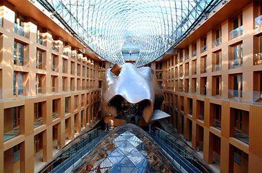 DZ Bank - Frank Gehry - interior