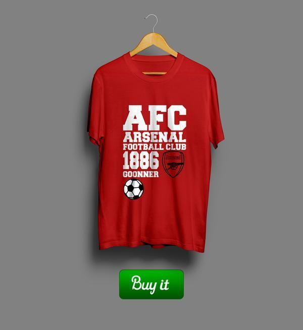 1886 Goonner | #Арсенал #Arsenal #Football #Club #футбол #футболка #tshirt #Gunners #Канониры