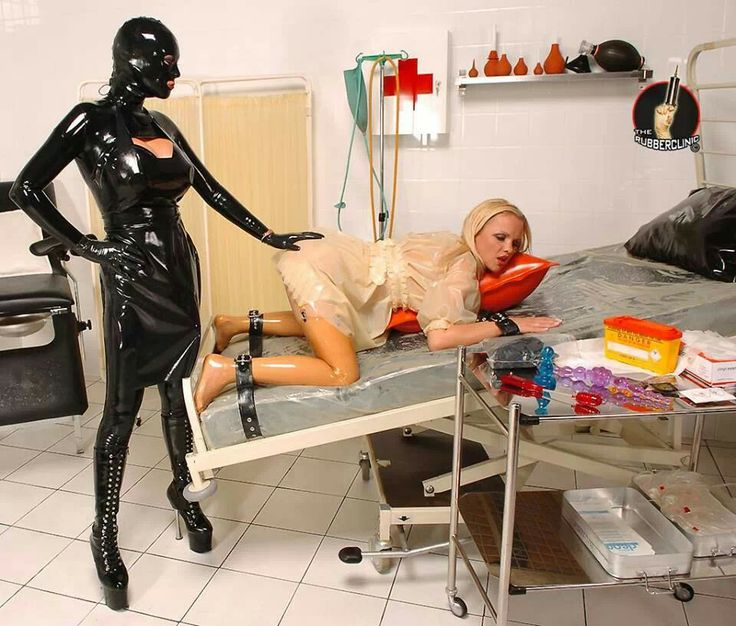 Bdsm latex fetish nurses - 1 part 6