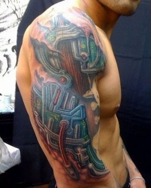 25 best cool upper arm tattoos images on pinterest arm for Cool upper arm tattoos