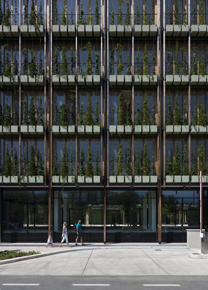 MUSE / Renzo Piano: Incorporating plants into the facade of a building can blur the distinction between interior and exterior.