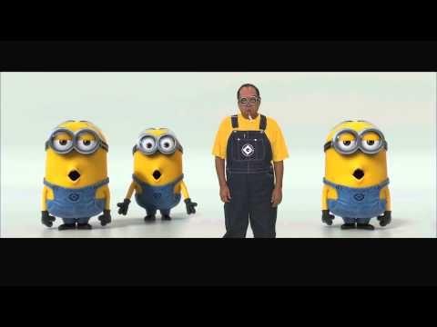 Banana and Potato Song with Subtitled Lyrics (Despicable Me 2 Trailer) - YouTube