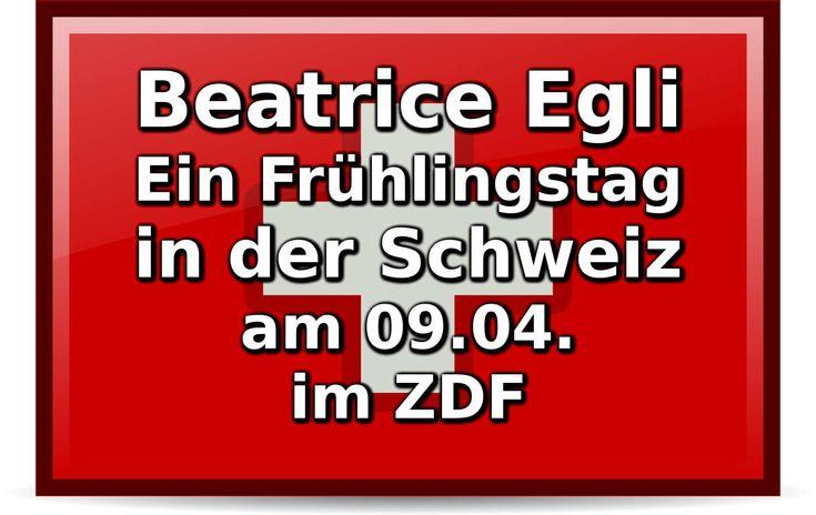 Am 09.04. ab 10:30 Uhr sendet das ZDF: Beatrice Egli - Ein Frühlingstag in der Schweiz. Neben der Schweizerin sind viele große Stars dabei!