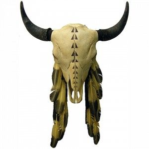 American Indian Style Buffalo Skulls, Robes & Hides Prairie Edge