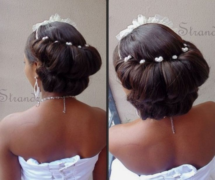 23 Evergreen Romantic Bridal Hairstyles: 50 Superb Black Wedding Hairstyles (With Images)
