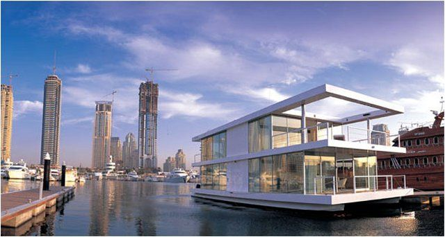 houseboat in Dubai