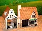 Cute guinea pig house