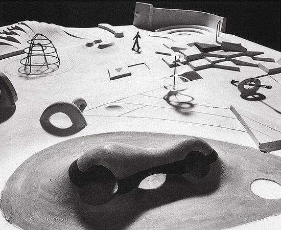 Isamu Noguchi proposal for New York playground. 1930s