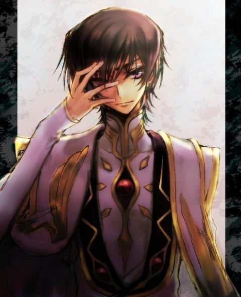 Lelouch Lamperouge Code Geass